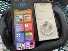 New Seal pack iphone 12pro max 128gb Available with bill and charger a