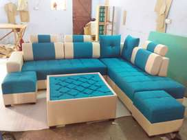 New designer L-shap sofa set full size