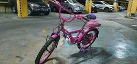 Sepeda Anak Perempuan, Merek FAMILY, Pink