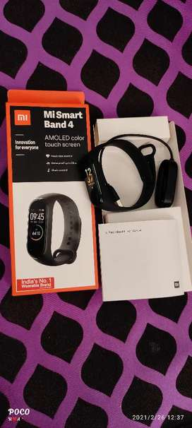 Mi band4 one month use urgent sale