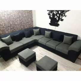 L shape sofa available,design by order