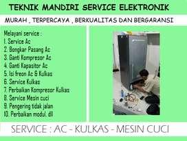 Service Kulkas showcase cuci AC isi Freon Kulkas AC   Mesin cuci rusak