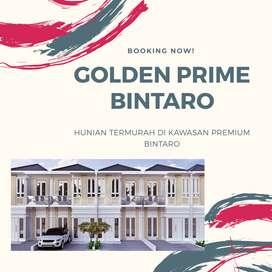 Bintaro, Hunian 2LT Golden Prime Dekat Kampus UPJ Bebas Banjir SHM