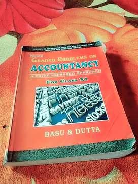 Accountancy books (basu & Dutta) for class 11