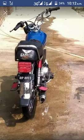 bike 70 cc pandi no well condition wirth dual spare parts with papers