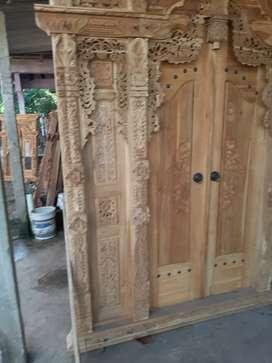 sujadi cuci gudang pintu gebyok gapuro jendela rumah masjid musholla