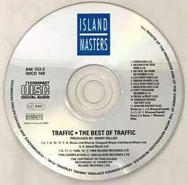 CD audio ori Traffic The Best ('60s rock/psych rock) - no box