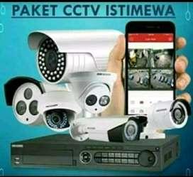 Pasang CCTV 2 mp 4 ch Biaya Murah. Sejabotabek Jakarta Barat