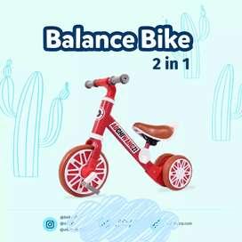 Push bike balance bike 2 in 1