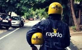 """Vijayawada"" rapido hiring for Bike riders and food delivery"