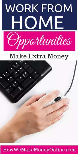 Part time typing work available for students. 7276