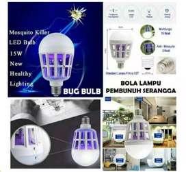 Bohlam LED anti nyamuk / lampu perangkap nyamuk mantap
