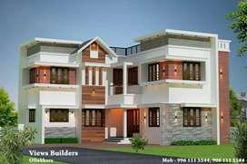 thrissur kalathode 5 cent 4 bhk new villa