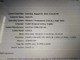 Notebook Asus-PC