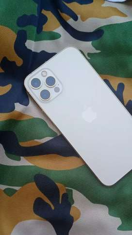 IphoN 12 pro in gold color  4 months used
