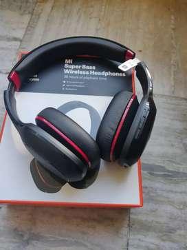 Mi super bass bluetooth headphones