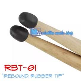 REBOUND RUBBER TIP RBT-01 Bikin Stick Drum jadi Drum Pad!