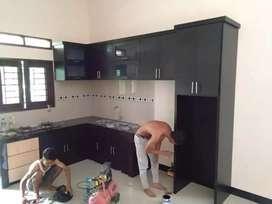 Kitchen set minimalis murah free asesoris
