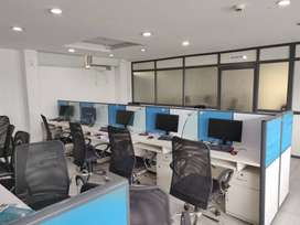 Luxury 20 seater 2 cabin furnished office at vijay nagar indore