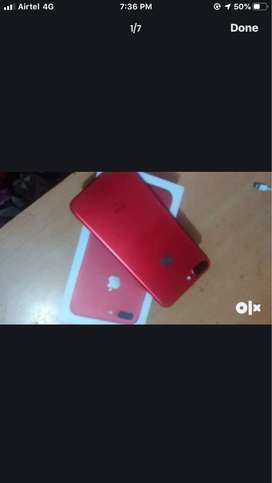 Red Edition iphone 7 plus 128gb (red) in brand new condition