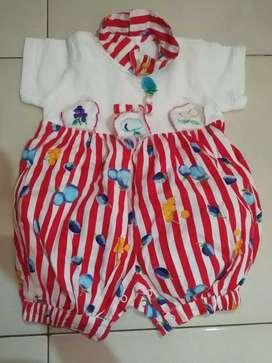 Baju baby merk bebito /bekas/0-3bln