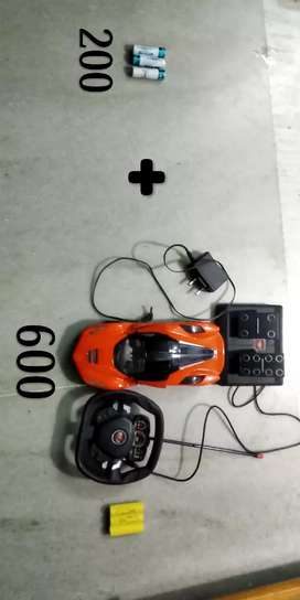 Remote control rechargeable car
