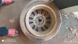 Baleno alloy wheeldrum 2 piece