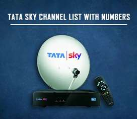 TATA NEW CONNECTION WITH HD BOX