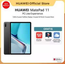 Huawei Matepad 11 with keyboard.