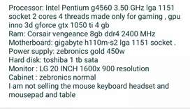 Gaming pc 3years old