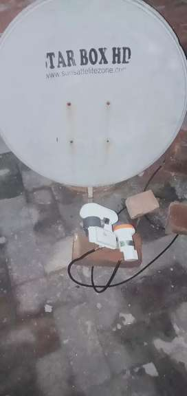 Dish tv ful HD recver lnb dish 2 fit 4 fit lnb ku full hd avalibill