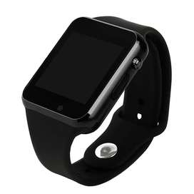 W08 Smart Watch with GSM Slot Black