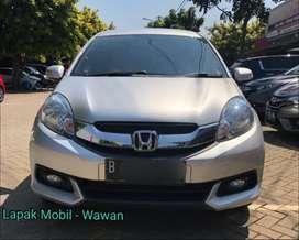 Honda Mobilio 1.5 E CVT Manual 2014 Km 35rb antik Tangan 1