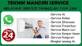 Service Ac, Mesin cuci Kulkas Showcase Frezerbox, Bongkar pasang Ac