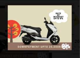 New Suzuki Burgman Street BS6 in lowest down payment ever
