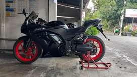 Kawasaki ninja 250 hitam ab kota 2011