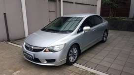 Honda Civic 1.8 FD MT Manual Batman Matic 2010 Silver ASTINA MOBIL
