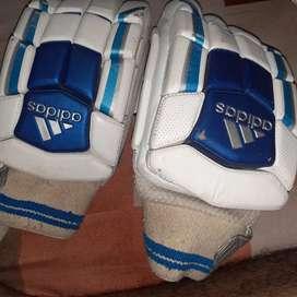 Right hand cricket batting gloves brand name adidas