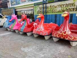 bebek fiber odong odong mainan edukasi labirin run kuda genjot AR