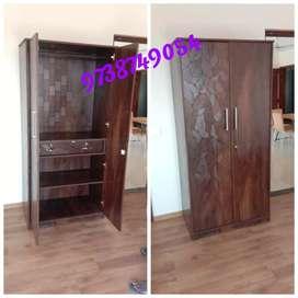 Brand new wooden wadrobe  2door 2.5/6feet just 7500
