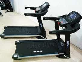 Ready treadmill elektrik komersil TL 199 3hp auto incline tmpilan ggah