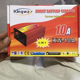 2in1 10A battry charger and cooler supply