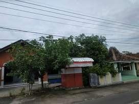 Rumah Pinggir Jalan Poros Cocok Buat Usaha Lokasi Doho Dolopo Madiun