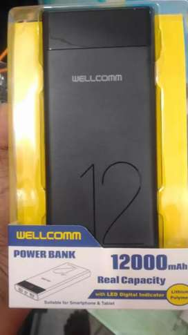 Power bank wellcomm 12.000 mah