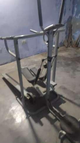 Manual treadmill 3 in 1 decent condition