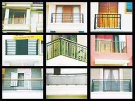 Pagar tangga balkon