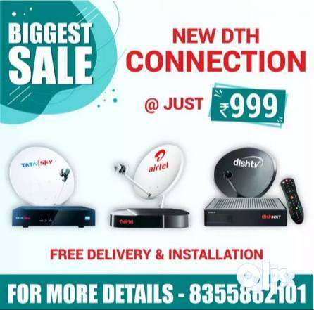 Diwali Special Offer on Dish Tv Connection 0