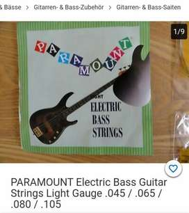 New Electric Bass guitar strings