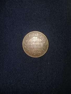 One Quarter Qnna India  1939