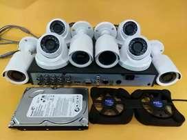 Paket lengkap camera cctv dengan harga terjangkau